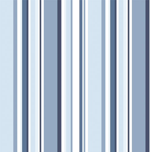 ST36911 Patton Wallcovering Norwall Simply Stripes 3 Step Stripe Wallpaper Navy