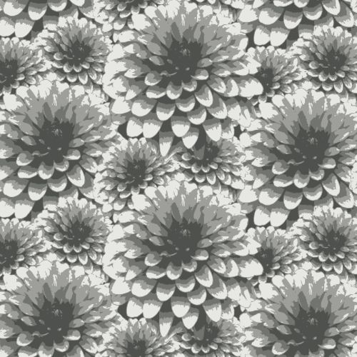 2861-87518 Brewster Wallcovering A Street Prints Equinox Umbra Floral Wallpaper Charcoal