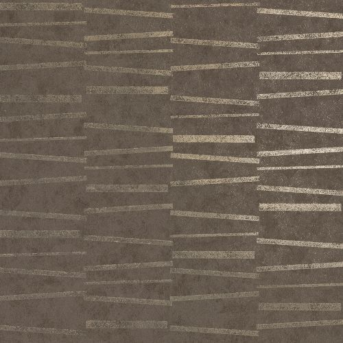 2927-10605 Brewster Wallcoverings Polished Luminescence Abstract Stripe Wallpaper Brown