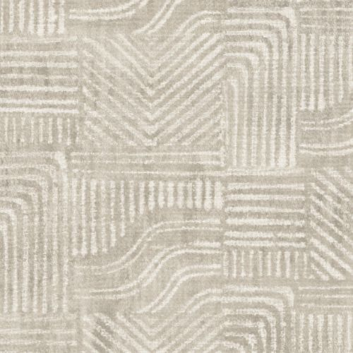 391532 Brewster Wallcoverings Eijffinger Terra Pueblo Global Geometric Wallpaper Light Grey