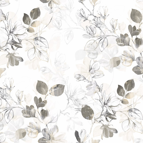 CL2543 York Wallcoverings Impressionist Arbor Vine Wallpaper Tan