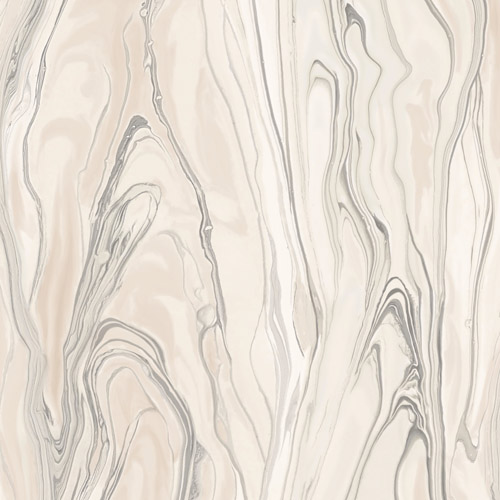 CL2574 York Wallcoverings Impressionist Liquid Marble Wallpaper Pink