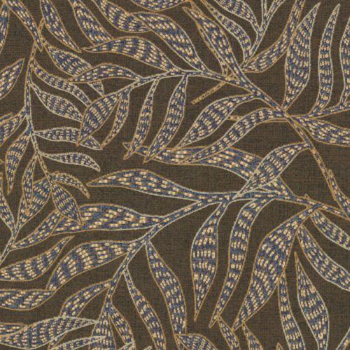 391550 Brewster Wallcoverings Eijffinger Terra Montrose Leaves Wallpaper Brown