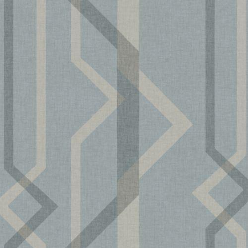 GM7601 York Wallcoverings Geometric Resource Shape Shifter Wallpaper Blue