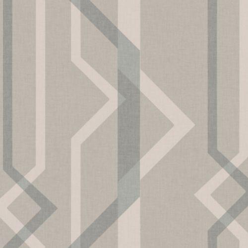 GM7602 York Wallcoverings Geometric Resource Shape Shifter Wallpaper Beige