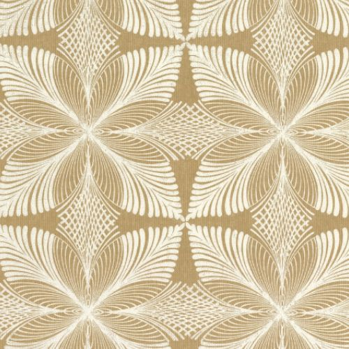 HC7545 York Wallcoverings Ronald Redding Hancrafted Naturals Roulettes Wallpaper Gold