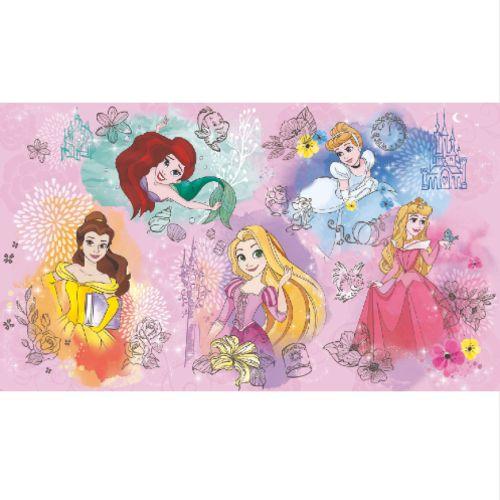 RMK11414M York Wallcoverings Disney Kids 4 Disney Princess Peel and Stick Wall Mural