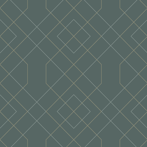 2964-25911 Brewster Wallcovering A Street Prints Scott Living Ballard Geometric Wallpaper Teal