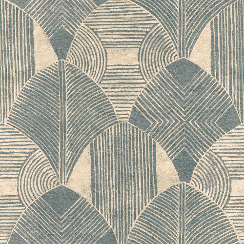 2964-25931 Brewster Wallcoverings A Street Prints Scott Living Westport Geometric Wallpaper Teal