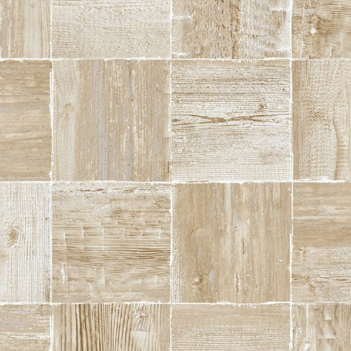 NW33408 Seabrook Wallcoverings NextWall Wood Block Peel and Stick Wallpaper Neutral