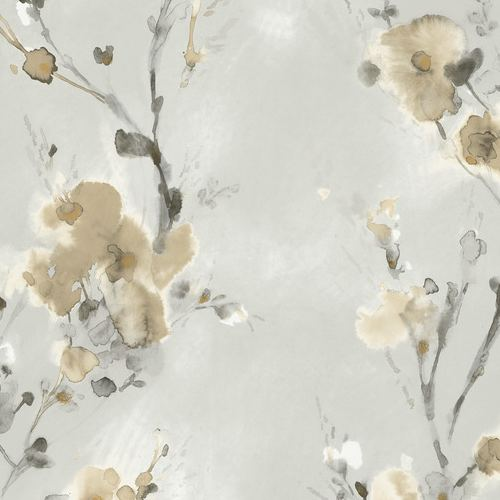 PSW1101RL York Wallcoverings Simply Candice Charm Peel and Stick Wallpaper Neutral