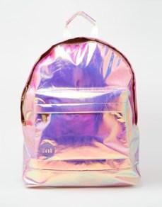 asos mi-pack hologram bag