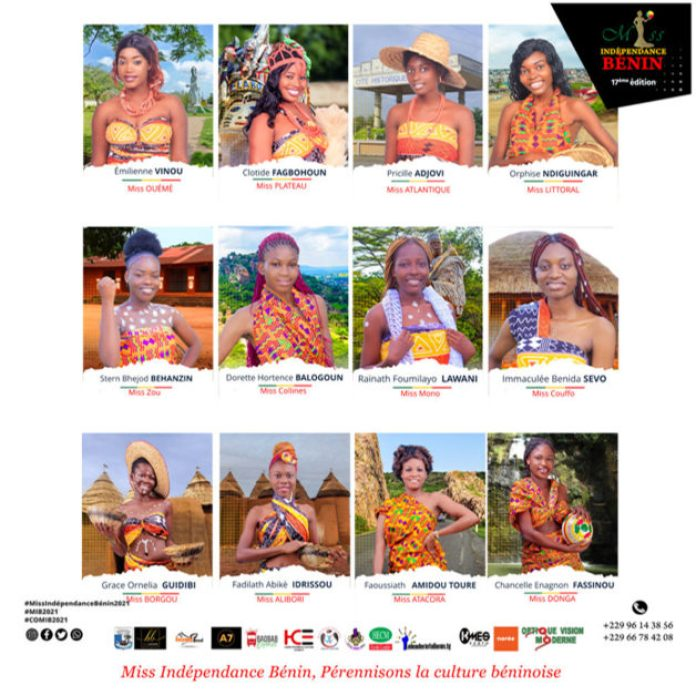 Miss Independence 2021 finalistes
