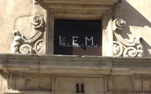 Le LEM - façade