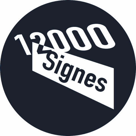 logo festival Les 12000 signes