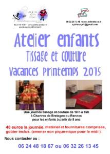 atelier -tissage-couture-vacances-printemps-rennes-bretagne