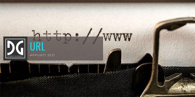 Scrittura URL SEO