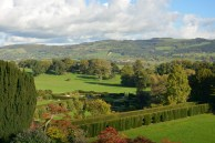 View from Powis Castle