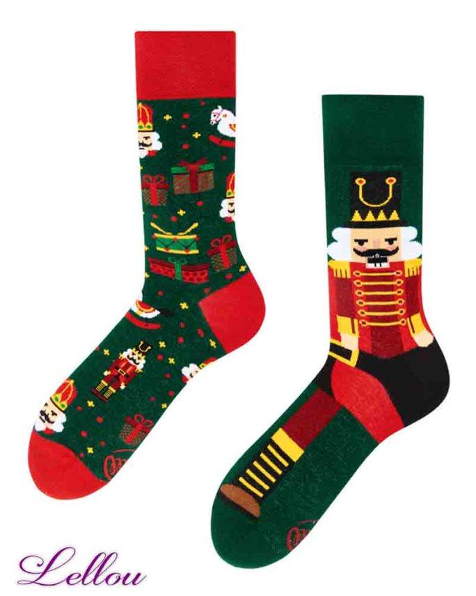 Chaussettes Dépareillées Casse Noisette NUTCRA regular Socks amusantes drôles. La vie est trop courte pour des chaussettes ennuyeuses! Europe