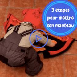 Lelolife Montessori accessible à tous - Autonomie à mettre son manteau seul