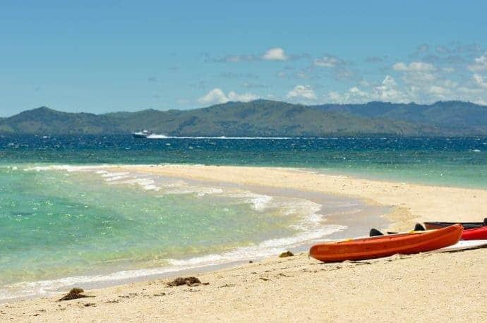 Beach at Savala Island, Fiji