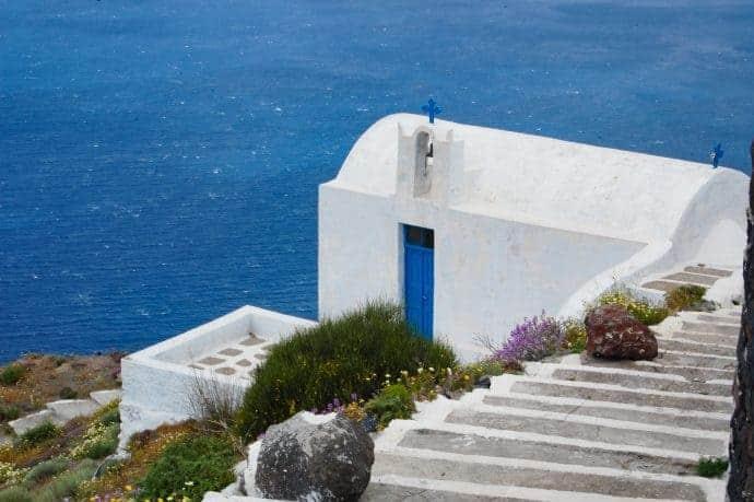 Fira church, Santorini
