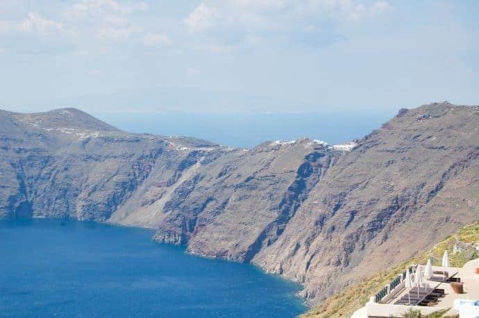 View of the Santorini Caldera