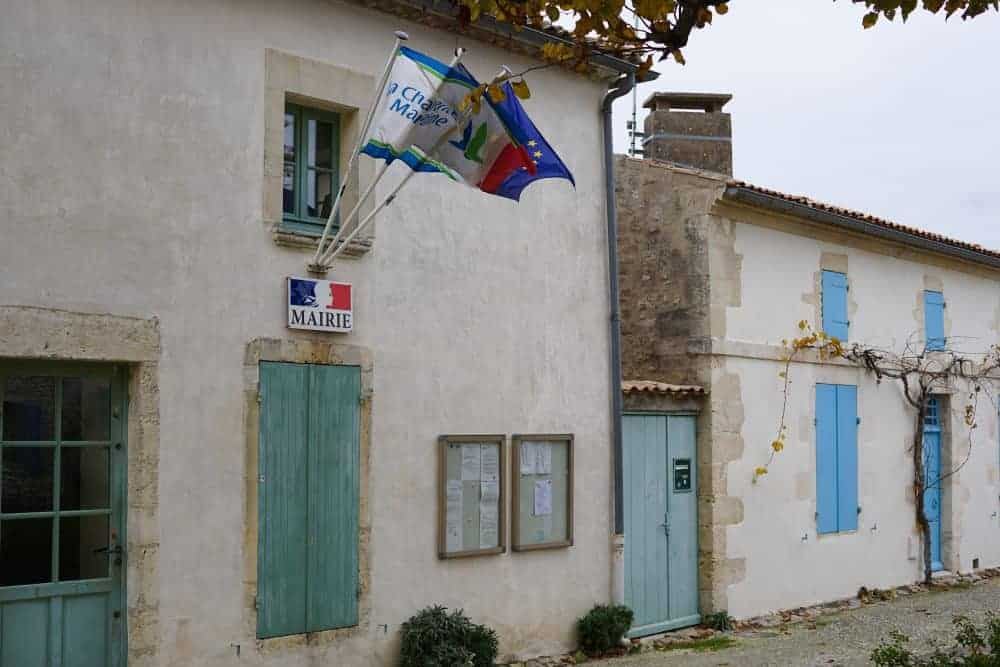 Talmont Mairie office, France