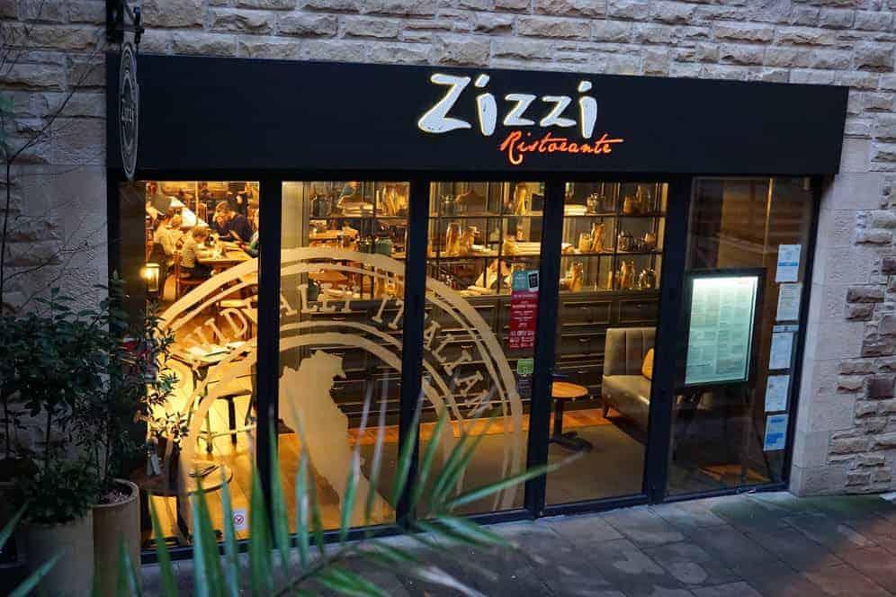 Zizzi's Italian restaurant in Edinburgh