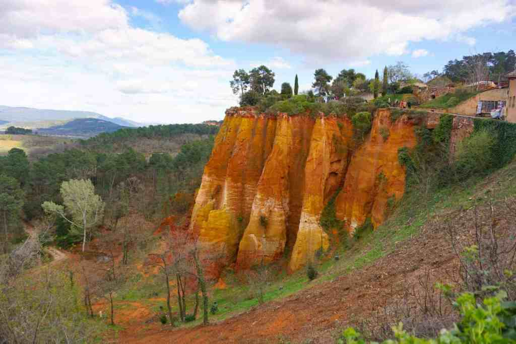 Roussillon, France & the Ochre Trail.