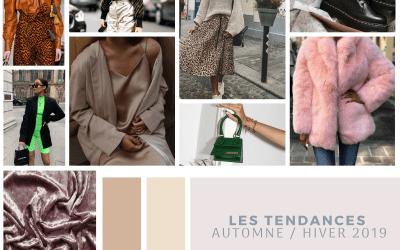 Les tendances Automne / Hiver 2019