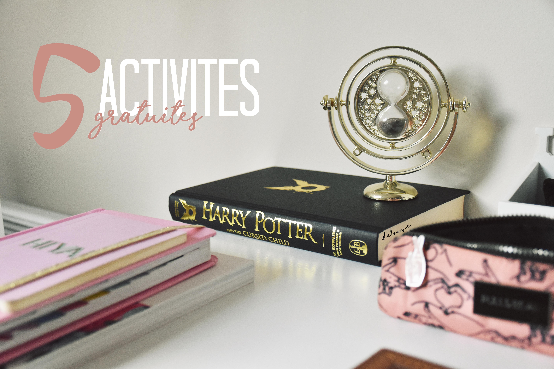 5 activités que j'aime faire (et qui sont gratuites!)