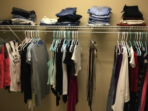 My closet has NEVER been this organized, not even first moving in!! :)