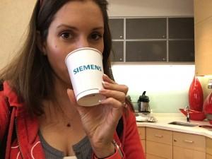 Drinking siemens... :)