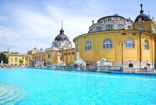 Thermes à budapest