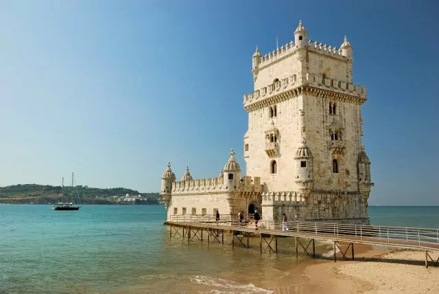 Belem tower in Lisbon (Portugal)