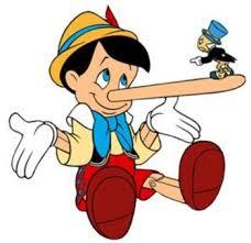mentir aux enfants