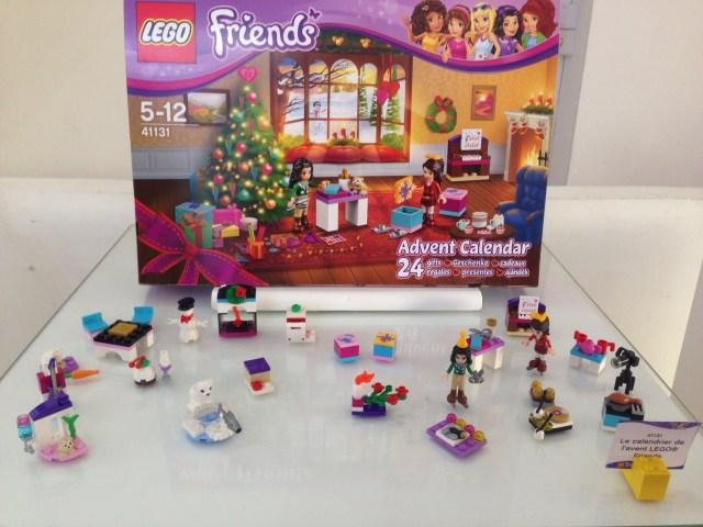 Calendrier de l'Avent Noel 2016 LEGO Friends (Référence 41131) - Environ 20 €