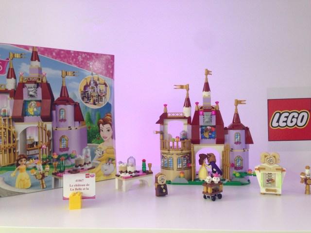 Le château de la Belle et la Bête - Référence : 41067 (environ 50 €)