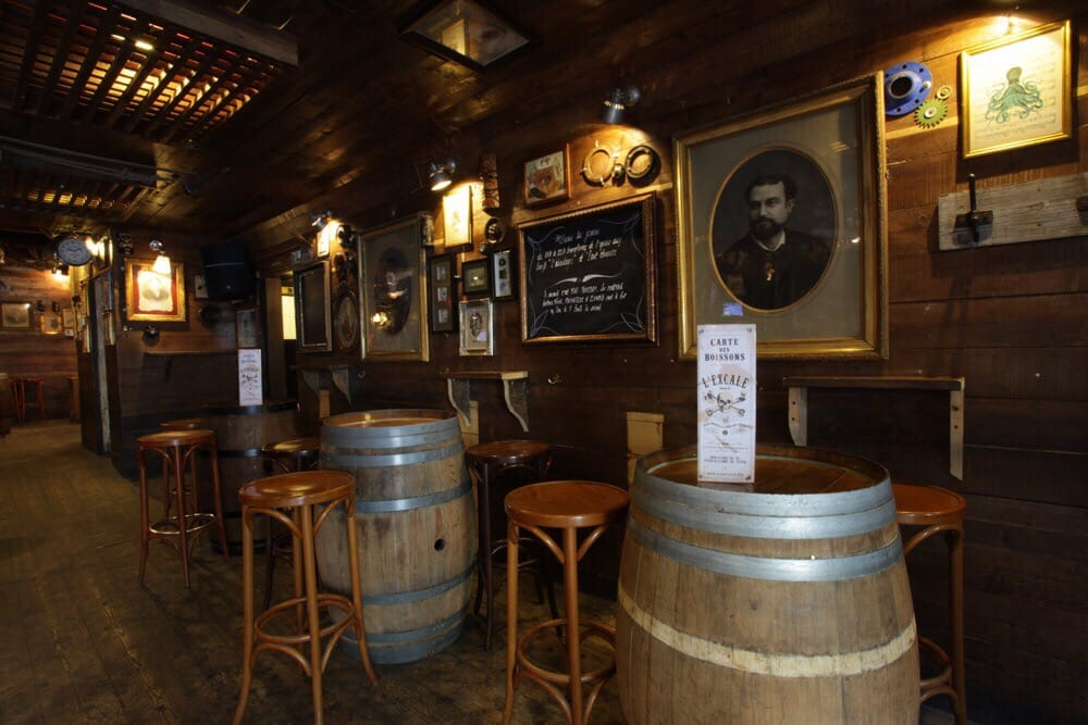 L Excale Pirate Bar Le Map Bordeaux Local City Guide