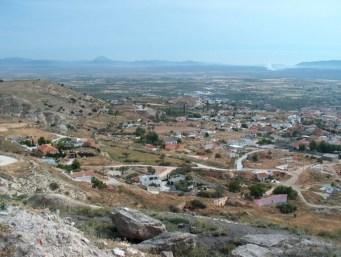 Vista Panorámica del Barrio de las Cuevas