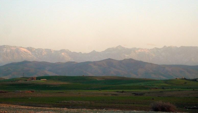 ATLAS MOUNTAINS VIEW