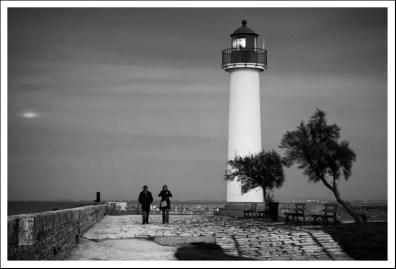Couple près du phare