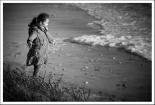 Child on the dune