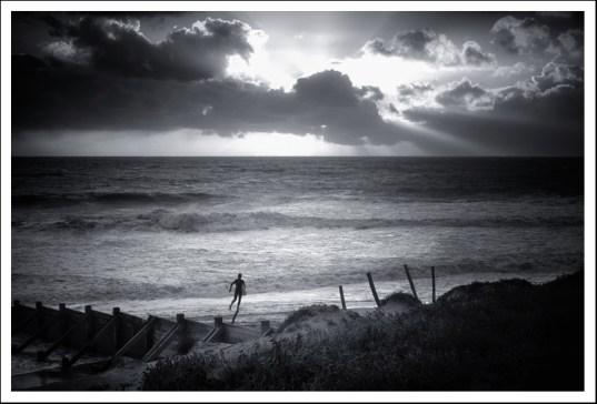 Surfeur de l'île de Ré