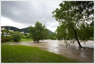 Le nouveau lac de Lourdes