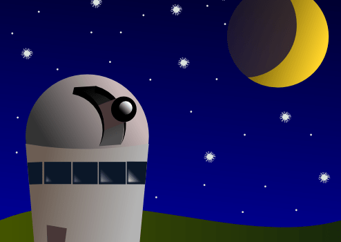 Observatory on a Hill