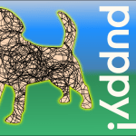 223 of 365 is ZOMG, Puppy! [illustration] #Inkscape