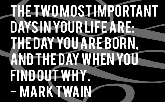 20111115: Twain on importance by John LeMasney via 365sketches.org #design #quotes