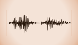 """A waveform of me saying the word """"open"""" by John LeMasney via 365sketches.org #creativecommons #sound #tattoo"""